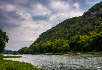 Loudoun Heights and the Shenandoah River, in Harper's Ferry, Wes