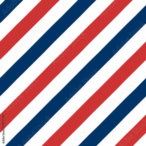 Cotton fabric Barber Pole seamless pattern