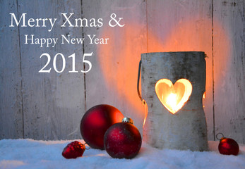 Weihnachtskarte - Merry Xmas 2015