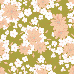 Spring Seamless floral pattern
