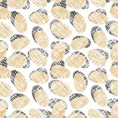 Eggs Seamless Pattern