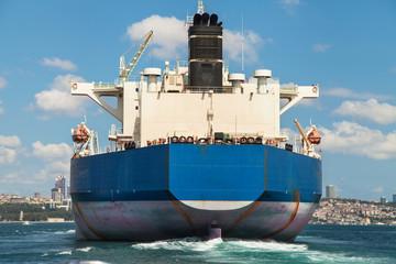 Freighter stern