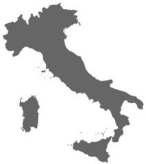 Italien in Grau