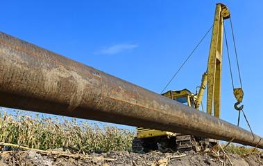 In the pipeline repairs
