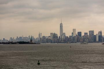 Stormy New York Day