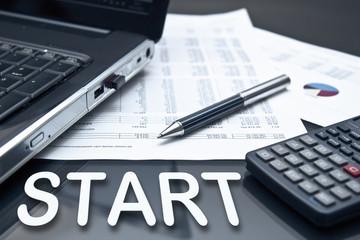 Büroalltag - Start