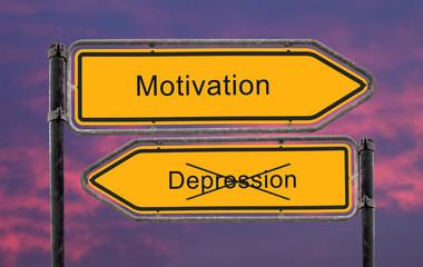 Strassenschild 22 - Motivation