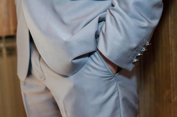 Elegant man - detail