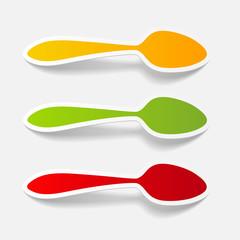 realistic design element: spoon