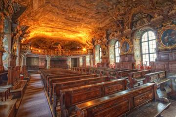 Aula Leopoldina Wrocław,Polska.