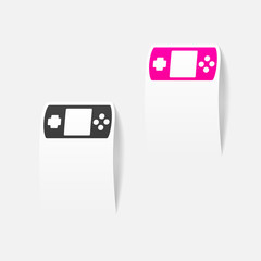 realistic design element: joystick