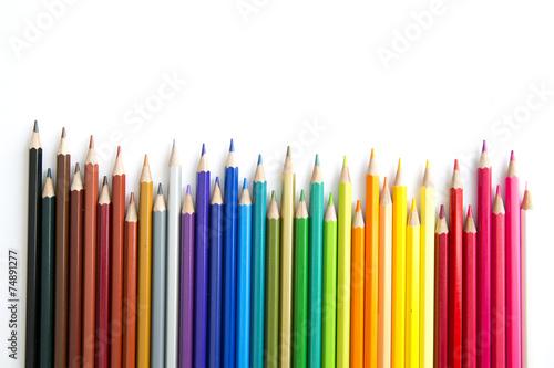 Color pencils - 74891277