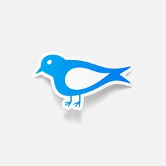 realistic design element: bird