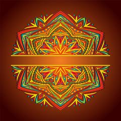 Abstract Mandala. Decorative element for design