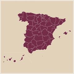 mapa provincias españa
