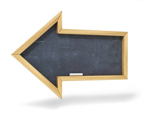 School board in the form of an arrow.