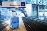 Departure for Podgorica, Montenegro poster