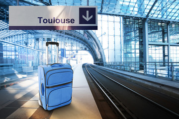 Departure for Toulouse, France
