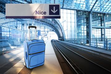 Departure for Nice, France