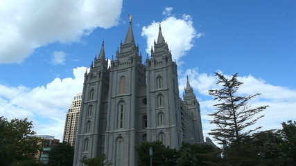 The Church of Jesus Christ of Latter-day Saints Temple, Salt Lak