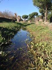 acqua sull'Appia Antica