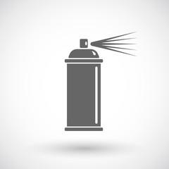 Spray paint line icon