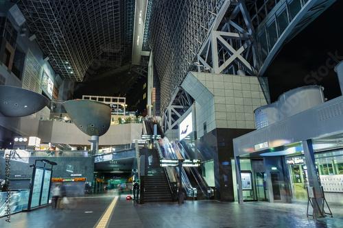 Staande foto Treinstation Kyoto Station