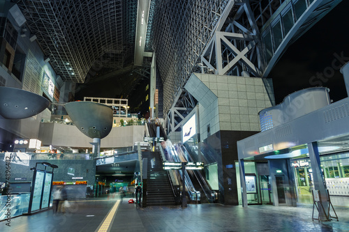 Foto op Plexiglas Treinstation Kyoto Station