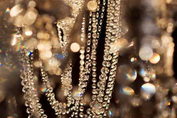 Abstract luxury gold background. Christmas, New Year