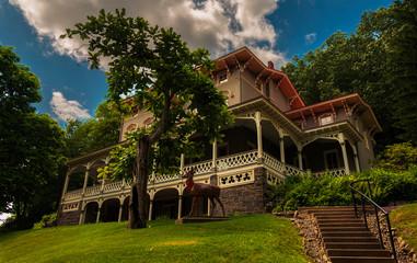 The Asa Packer Mansion, Jim Thorpe, Pennsylvania.