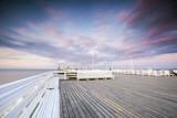 The longest wooden pier in Europe