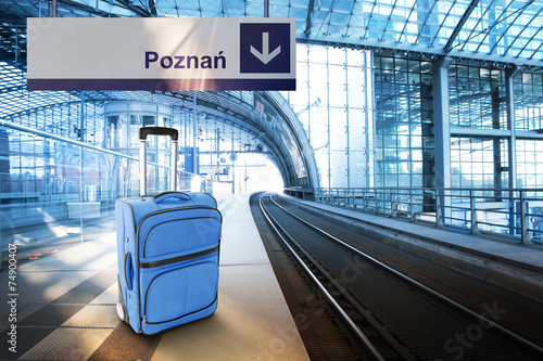 Departure for Poznan, Poland - 74900407