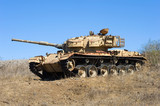Old tank of war - 74900691