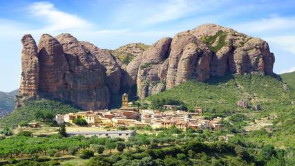 Landscape with Aguero Mountains.