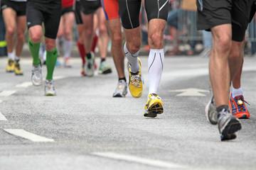 Marathon-Beine