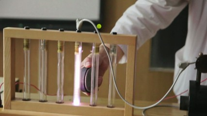 physical experiment, gases