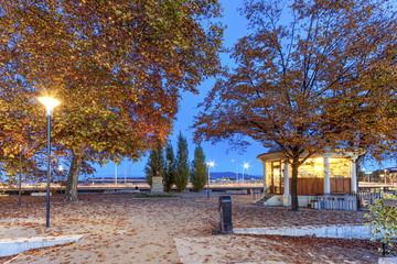 Rousseau island, Geneva, Switzerland