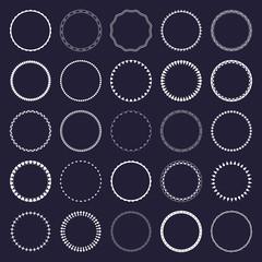 Circle ornament patterns