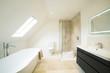 Leinwanddruck Bild - Interior View Of Beautiful Luxury Bathroom
