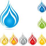 Logo, Wassertropfen, Tropfen, Wasser