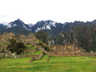 Pérou, ruines du Macchu Picchu
