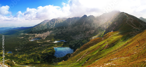 View to Świnica, Tatra Mountains - 74904630