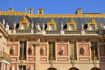 Versailles Palace in Ile de France