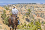 Cowboy in Bryce Canyon national park (USA) - Fine Art prints