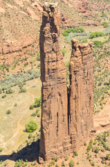 Spider Rock,Canyon de Chelly National Monument, Arizona