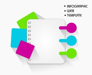Infographic Web Template