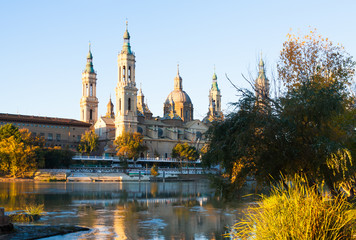 Cathedral of Our Lady of the Pillar   in  Zaragoza