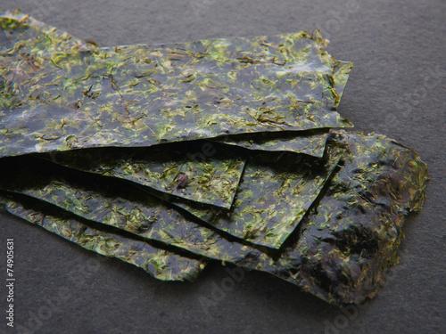 Leinwanddruck Bild Nori-Blätter