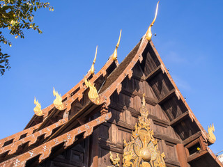 Wat Jedi Luang is one of the most attractive in Chiangmai