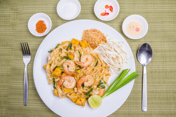 Pad Thai , Thai popular food